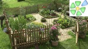 gartengestaltung bauerngarten bilder bauerngarten quadratisch anlegen wegekreuz bepflanzen