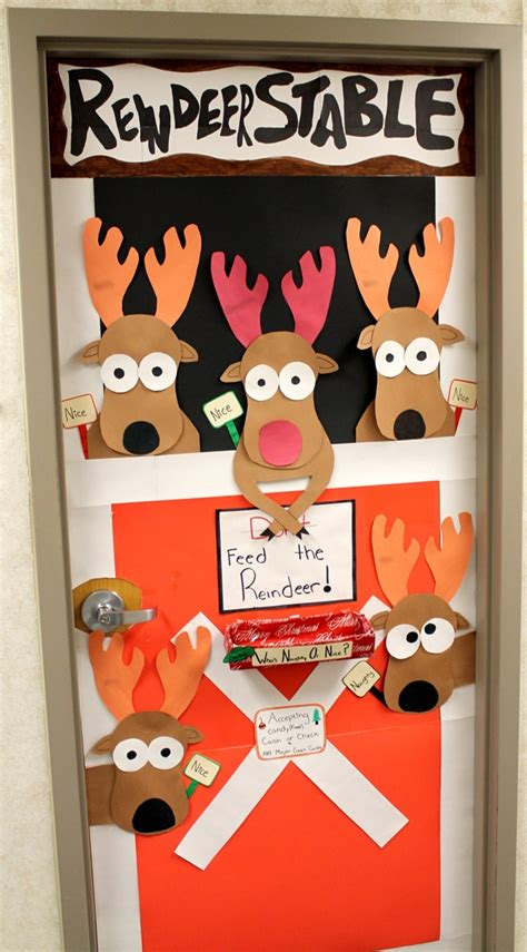 reindeer stable barn party next year party ideas
