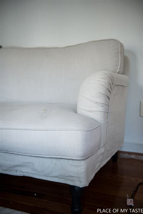 make your own slipcover comfort works slipcover for ikea stocksund sofa place of