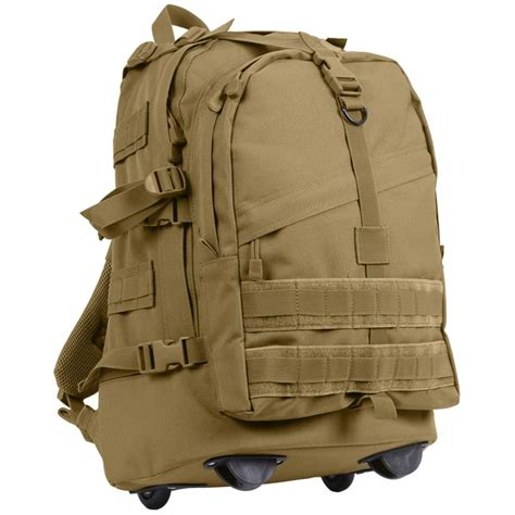 tactical luggage tactical molle compatible rolling carry on luggage pack