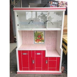 Gratis Ongkir Rak Gantung Lemari Kulkas Minimalis lemari piring rak piring bufet piring minimalis warna 3 pintu shopee indonesia