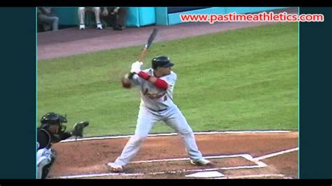 swing mechanics yadier molina slow motion baseball swing hitting