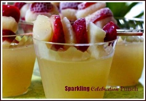 sparkling celebration punch recipe non alcoholic non alcoholic sparkling celebration punch click to the recipe mix and sip