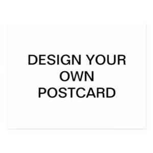 make your own postcard template custom postcards postcard template designs zazzle