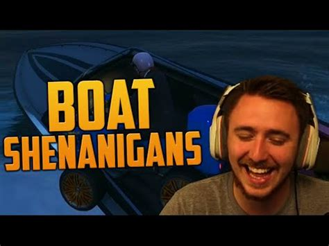boats gta v online boat shenanigans gta v online pc youtube