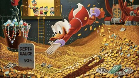 Scrooge Mcduck Meme - on mickey mouse s 85th birthday here are 10 inspiring