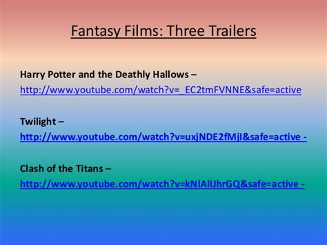 fantasy film genre conventions fantasy film genre essay writinggroups818 web fc2 com
