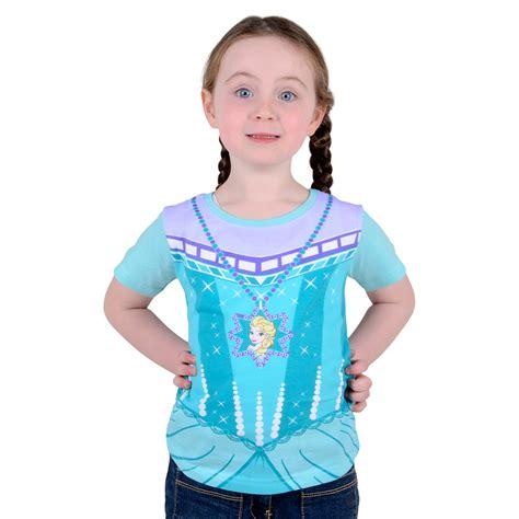 Elsa Shirt official disney frozen elsa 100 cotton
