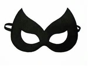 catwoman mask template printable