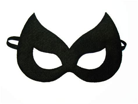 items similar to catwoman superhero felt mask black