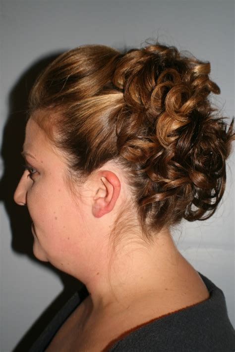 upstyle hair styles formal upstyle back view short hairstyle 2013