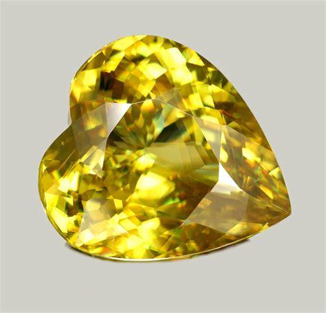 sphene gemstone jewelry information golden green sphene