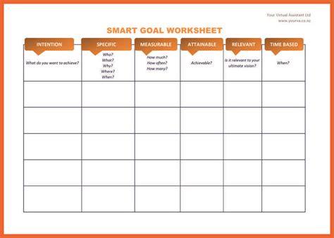 smart template charming smart goals worksheet template photos