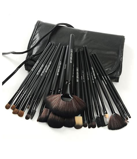 Make Up For You Brush Set jet black make up brush set my make up brush set ca