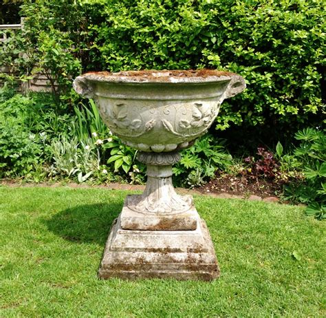 Large bowl planter in from the vintage garden company