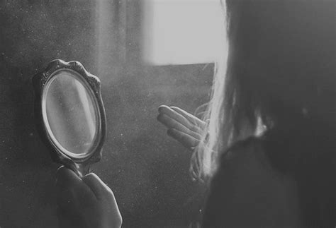 black and white mirror photography mirror via image 848455 by kristy