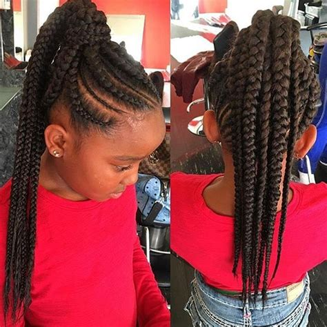 show me pictures of extensions french braids black people here stylist feature how cute is this braided ponytail on