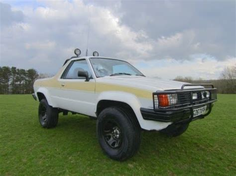 brat subaru lifted subaru brat with 6 inch suspension lift 4wd 1989 youtube
