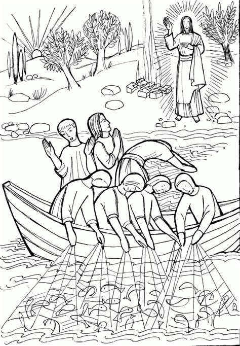 coloring pages of jesus miracles jesus miracles coloring pages coloring home
