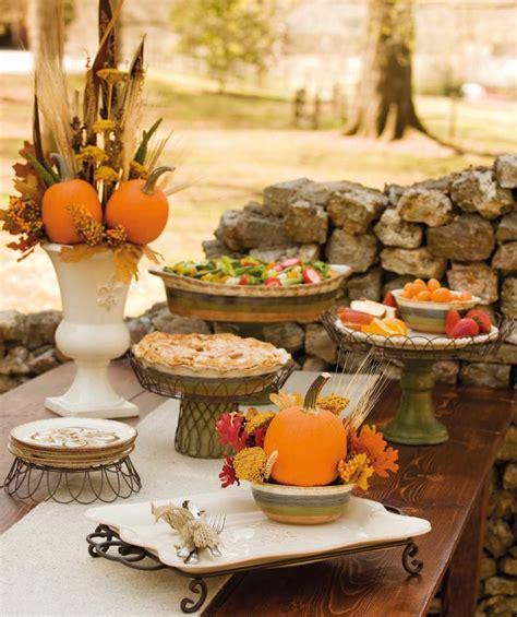 fall table setting party idea autumn vanilla picture autumn tablescapes