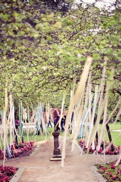 Streamers, Ribbons and Trees on Pinterest