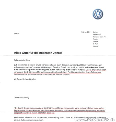 Anschreiben Initiativbewerbung Volkswagen Fsc Vw Anschreiben Ihr Fahrzeug Feiert Bald Seinen 2 Geburtstag Vw Polo 5 204336970
