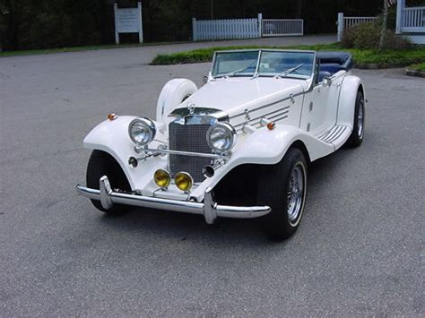 4 seater mustang 1936 mercedes 540k 4 seater baron with mustang ii v6