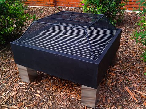 pit cooking grates outdoor classics square spot pit with cooking grate traditional pits