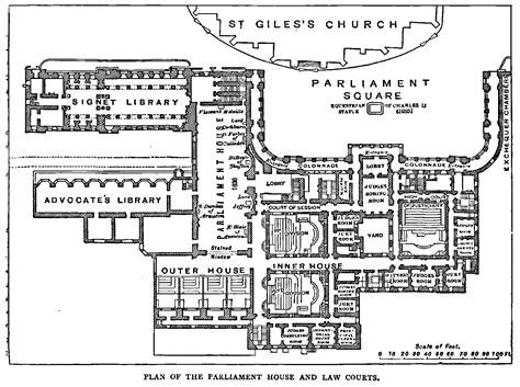 houses of parliament floor plan history of leith edinburgh 187 plan of parliament house and