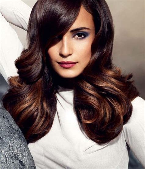 hair color for dark brown eyes like this color recommended for fair skin and dark brown