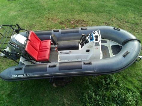 rib boat yarmouth mach 4 8 meter rib ex mil spec rigid inflatable boat in