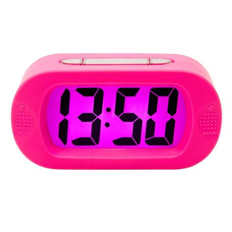 karlsson gummy alarm clock pink hurn and hurn