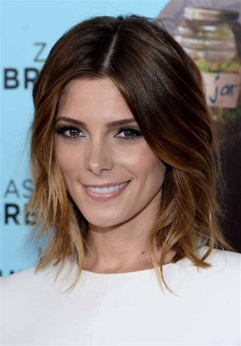 ashley greene with beautiful ombre 60 hottest celebrity short haircuts for 2015 styles weekly