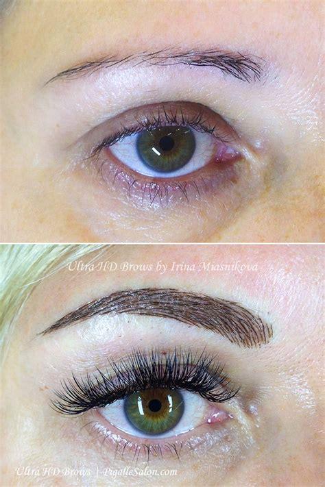 makeup eyebrows permanent make up eyebrow embroidery microneedling