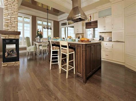popular kitchen best hardwood flooring for kitchen best kitchen flooring