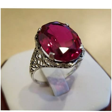 Ruby 8 7ct 83 jewelry genuine 7ct ruby ring size 8 from s