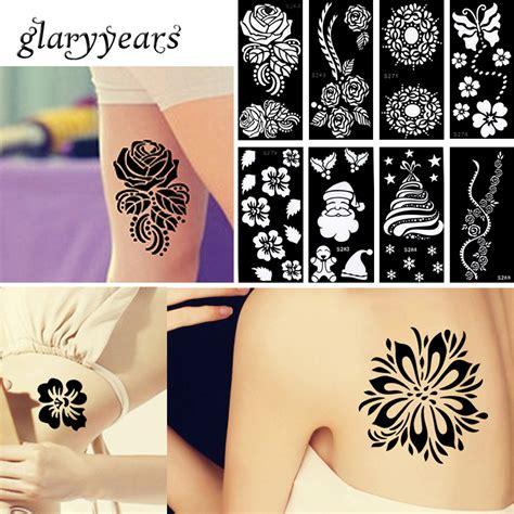 henna tattoo one piece popular flower tattoo stencil buy cheap flower tattoo