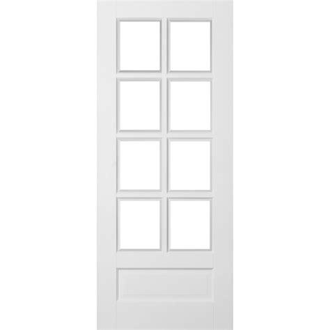 8 Panel Glass Interior Door Avesta White Primed 1 Panel 8 Light Clear Glazed Door Next Day Delivery Avesta White