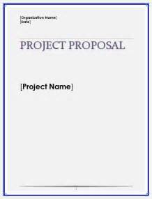 project proposal template microsoft word templates