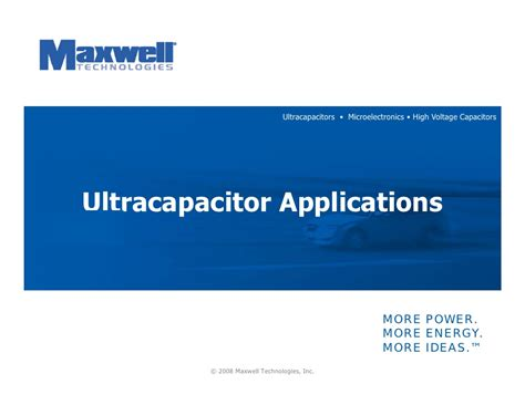 ultracapacitor battery ppt ultracapacitor ppt 28 images supercapacitors ppt hhd ultracapacitor ppt on capacitors