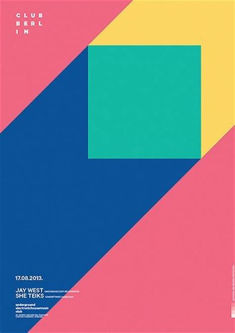 grafik design simple best 25 geometric poster ideas on pinterest flyer and