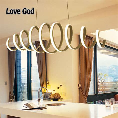 hanging dining room l led pendant lights modern kitchen l100cm 70cm new creative modern led pendant lights hanging