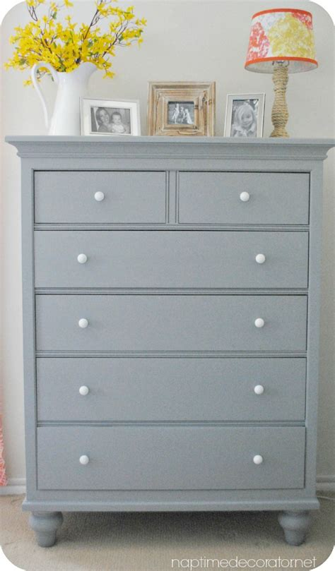 best grey paint for furniture yet another look for my husband s dresser
