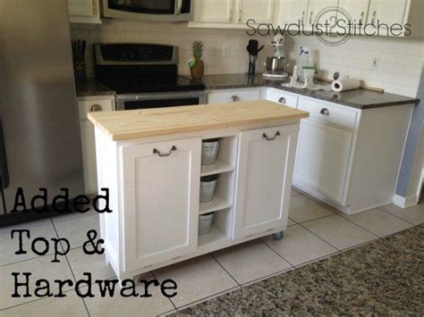 diy kitchen island from cabinets diy kitchen island made from a 5 garage sale cabinet