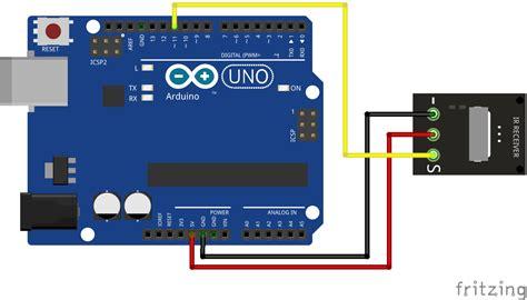 arduino tutorial ir sensor using an ir remote and sensor with an arduino brainy bits