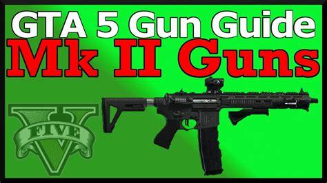 gta  mark  guns guide stats damage