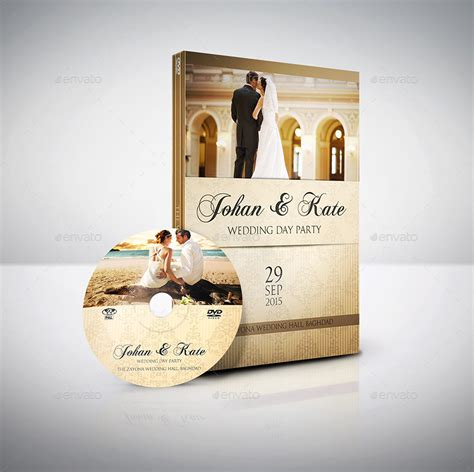 wedding dvd cover and dvd label template vol 4 by