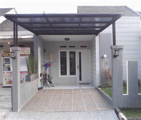 Kanopi Minimalis Atap Polycarbonate   Bengkel Las Jaya