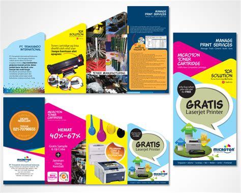 desain brosur photoshop 72 desain brosur dengan illustrator 10 contoh desain