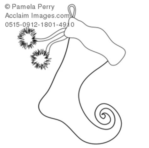 elf stocking coloring pages clip art illustration of a elf christmas stocking coloring